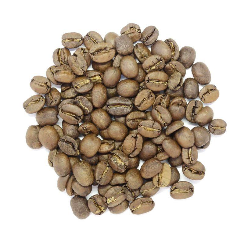 Bild på kaffebönorna Brasilian Yellow Bourbon