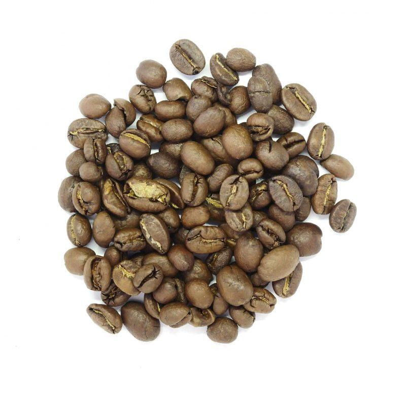 Bild på kaffebönorna Lillans Blandning